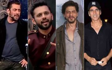 Bigg Boss 14: Salman Khan Tells Rahul Vaidya Shah Rukh Khan And Akshay Kumar Had No Godfather, They Made It On Their Own