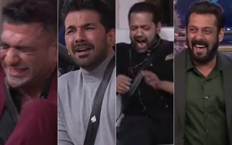 Bigg Boss 14 Promo: Eijaz Khan, Aly Goni, Abhinav Shukla And Rahul Mahajan Get Their Hair Waxed; Salman Khan Enjoys The Show-WATCH
