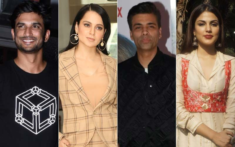 Newsmakers 2020: Late Sushant Singh Rajput, Kangana Ranaut, Karan Johar, Rhea Chakraborty And Others; Celebrities Who Made It To The Headlines, Even Without Trying