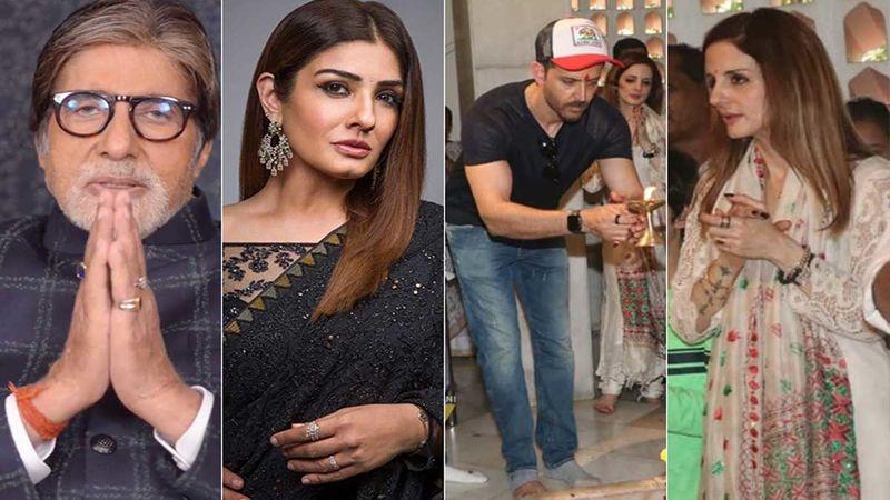 Maha Shivratri 2020: Amitabh Bachchan, Raveena Tandon, Richa Chadha Wish Fans; Hrithik Roshan, Sussanne Khan Perform Puja