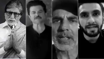 War Against Coronavirus: Amitabh Bachchan, Anil Kapoor, Akshay Kumar, Ranveer Singh Send Out A Message For Safety -WATCH
