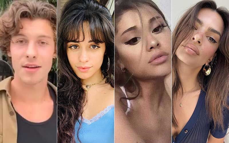 George Floyd Death: Shawn Mendes-Camila Cabello, Ariana Grande, Paris Jackson, Emily Ratajkowski Join Protests-WATCHtre