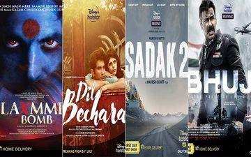 Laxmmi Bomb, Sushant Singh Rajput's Dil Bechara, Sadak 2, Bhuj, Big Bull, Lootcase, Khuda Hafiz; 7 Films Releasing On Disney+ Hotstar