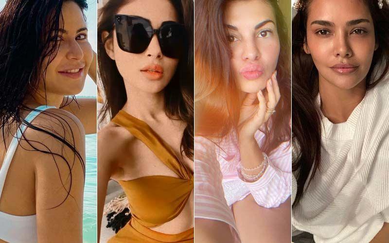 Hottest Bollywood Actresses On Insta This Week: Katrina Kaif, Jacqueline Fernandez, Mouni Roy And Esha Gupta Set Social Media Ablaze With Sizzling Pics