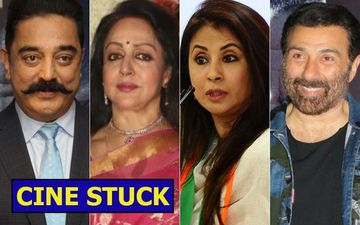 CINE STUCK: Kamal Haasan, Hema Malini, Sunny Deol, Urmila Matondkar: Bollywood In Politics, Does It Work?