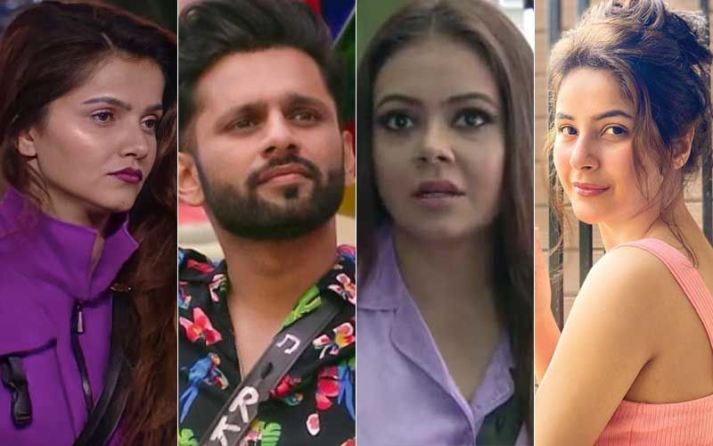 Bigg Boss 14 UNSEEN UNDEKHA: Rubina Dilaik-Rahul Vaidya Discuss Devoleena Bhattacharjee's Apology To BB 13 Fame Shehnaaz Gill-WATCH Video - SpotboyE