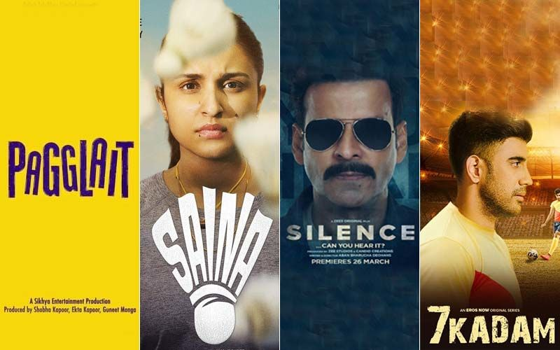 The Battle Of The Box-Office: Pagglait, Saina, The Silence And 7 Kadam