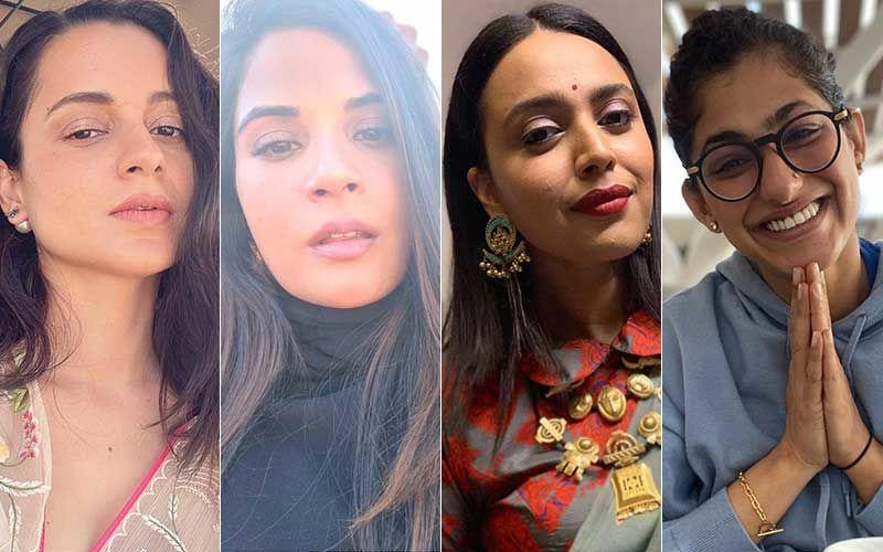 Kangana Ranaut's Twitter Suspension: Richa Chadha, Swara Bhasker React; Kubbra Sait Tweets 'I Hope A Permanent Relief'