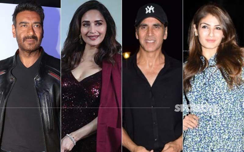 Ajay Devgn, Madhuri Dixit, Akshay Kumar, Raveena Tandon: Superstars Of '90s Who Are Making Their Way On OTT Now