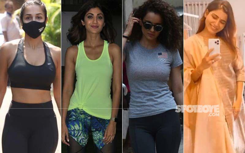 International Yoga Day 2021: Malaika Arora, Shilpa Shetty, Kangana Ranaut, Samantha Akkineni, And Others Who Achieved Their Fitness Goals, Thanks To Yoga