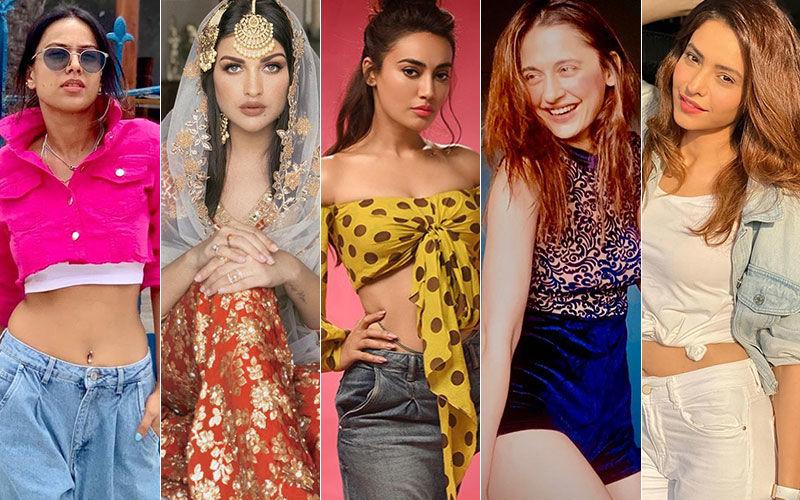 BEST DRESSED & WORST DRESSED Of The Week: Nia Sharma, Himanshi Khurana, Surbhi Jyoti, Sanjeeda Shaikh Or Aamna Sharif?