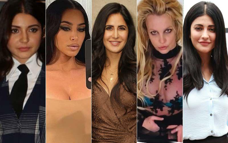 Anushka Sharma, Kim Kardashian, Katrina Kaif, Britney Spears, Shruti Haasan: From Butt, Lip Fillers To Breast Implants- Did These Celebrities Get Nips And Tucks?