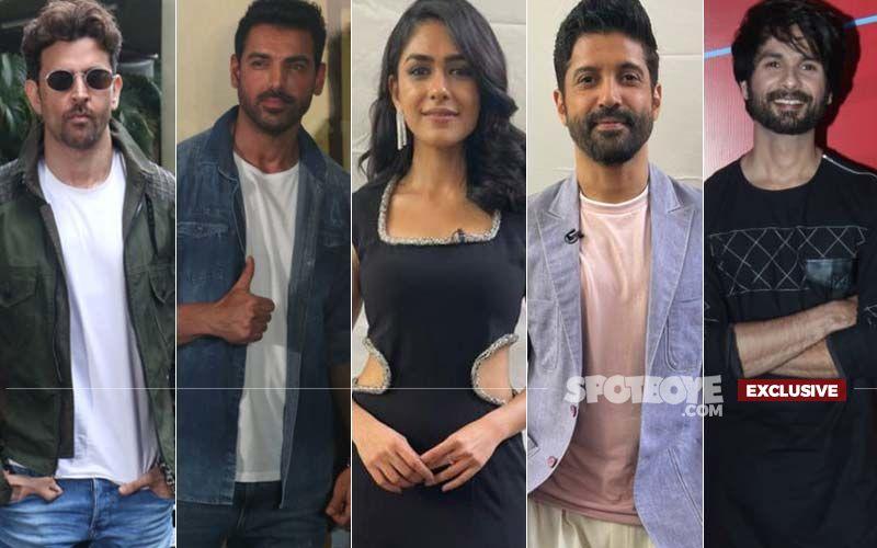 Mrunal Thakur Reveals What She Learnt From Hrithik Roshan, John Abraham, Farhan Akhtar And Shahid Kapoor-EXCLUSIVE