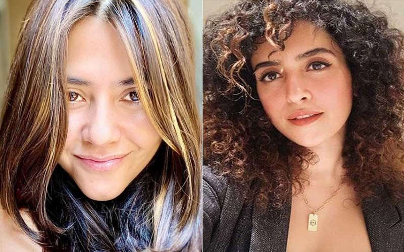 Ekta Kapoor Is All Praise For Her Pagglait Star Sanya Malhotra; Pens A Long Appreciation Post For Her And Team