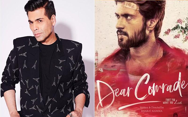 Buzz: Karan Johar Pays A Whopping Rs 6 Cr For Vijay Deverakonda's Dear Comrade Hindi Remake Rights