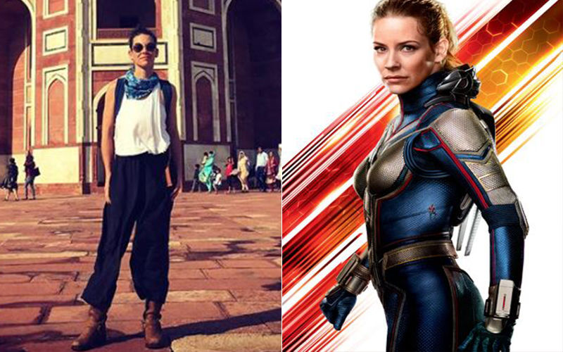 Avengers: Endgame Star Evangeline Lilly Aka The Wasp On A Vacation In Delhi