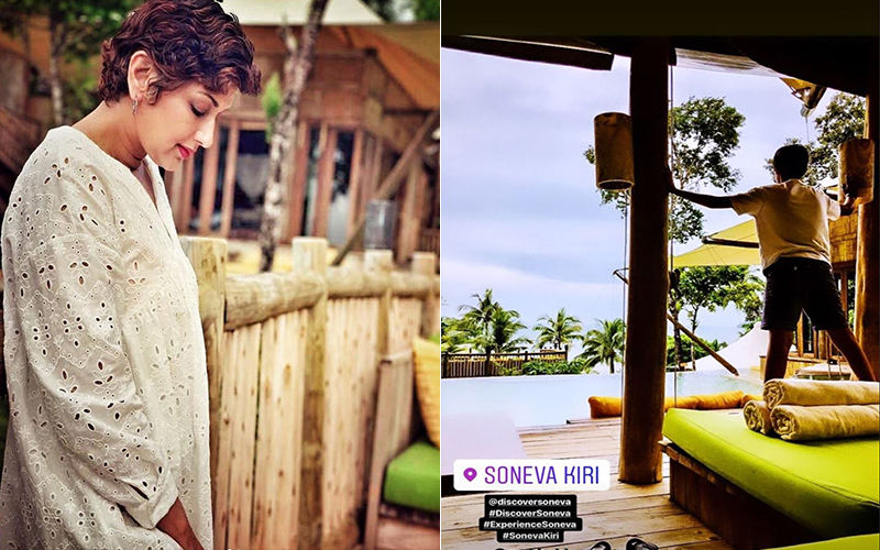 "Sonali Bendre Is ""Off To Paradise"" With Her Husband And Son; Shares Lovely Pictures From Her Thailand Vacay"