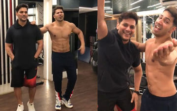 Varun Dhawan's Dance On Tum Toh Thehre Pardesi With Fitness Trainer Prashant Sawant Will Crack You Up- Watch Video