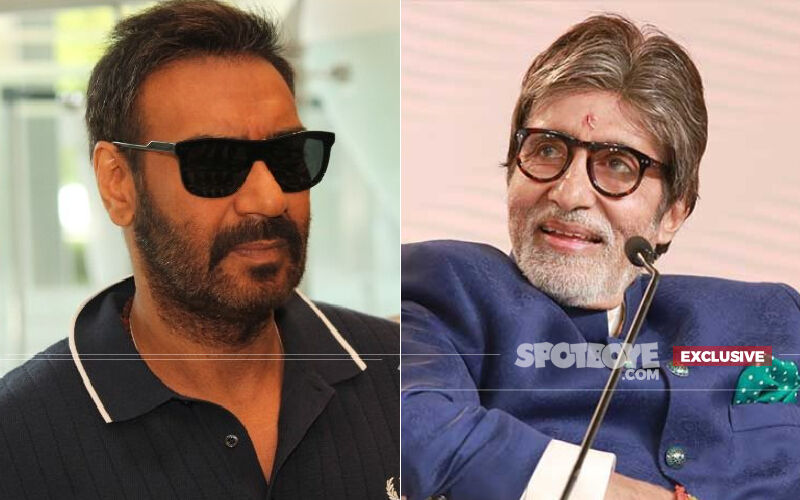 Ajay Devgn Shares A Still From His Upcoming Film MayDay To Wish His Co-star Amitabh Bachchan On Birthday