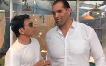 Sonu Sood's Claim Of Being The Tallest Celeb In Bollywood Gets An Epic Reaction From The Great Khali- Video