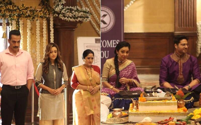 Anupamaa Spoiler Alert: While Anupamaa And Anuj Begin The Bhoomi-Pujan, An Angry Vanraj Makes His Way To The Venue
