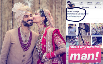 """Anand Ahuja Adds 'S' For Sonam To His Name; Wife Exclaims, """"He's The Man"""""""