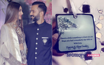 Check Out What Sonam Kapoor & Anand Ahuja Gave As Return Gifts To Their Guests!