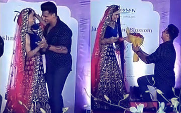 Video: Prince Narula Goes Down On His Knees For Ladylove Yuvika Chaudhary