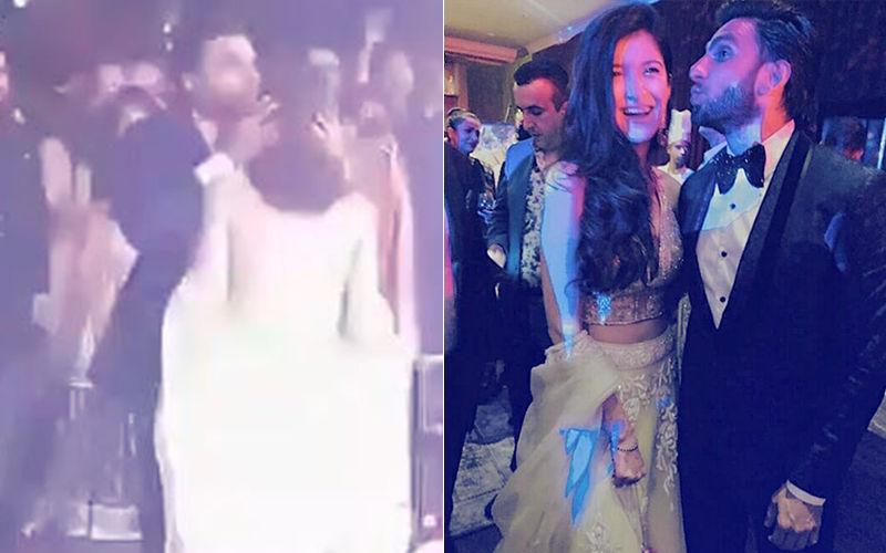 Video: Ranveer Singh Kisses Shanaya Kapoor's Forehead While Dancing With Her