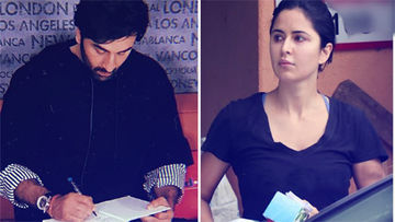 Not Together, Yet Twinning! Ranbir Kapoor & Katrina Kaif Spotted In All-Black
