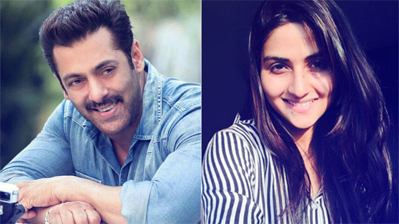 Salman Khan To Launch Nutan's Granddaughter, Pranutan