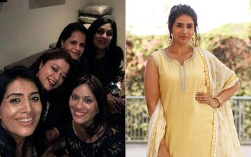 Sonali Kulkarni Celebrates Best Friend's Birthday With Her Gang