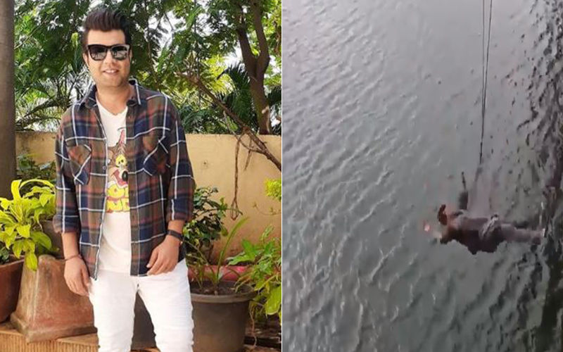 Arjun Patiala: This BTS Video Of Varun Sharma Being Thrown Into The Water Is Unmissable