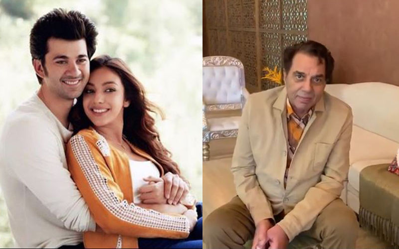 Dharmendra Wishes Good Luck To Grandson Karan Deol For His Debut Movie Pal Pal Dil Ke Paas; Pens Heartfelt Note