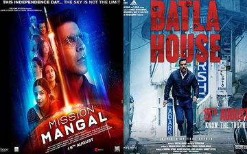 Mission Mangal And Batla House Box-Office Collections, Week 2: Akshay Kumar's Film Maintains Strong Run While John Abraham Starrer Inches Closer To 80 Cr