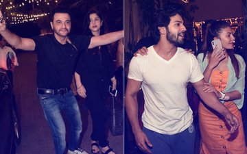 Sonam Kapoor Wedding: Chachu Sanjay Breaks Into Bhangra, Jacqueline Fernandez Poses With Varun Dhawan
