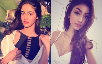 Oops! Ananya Panday's Cousin Alanna Just Threw Her Slipper At This Guy...