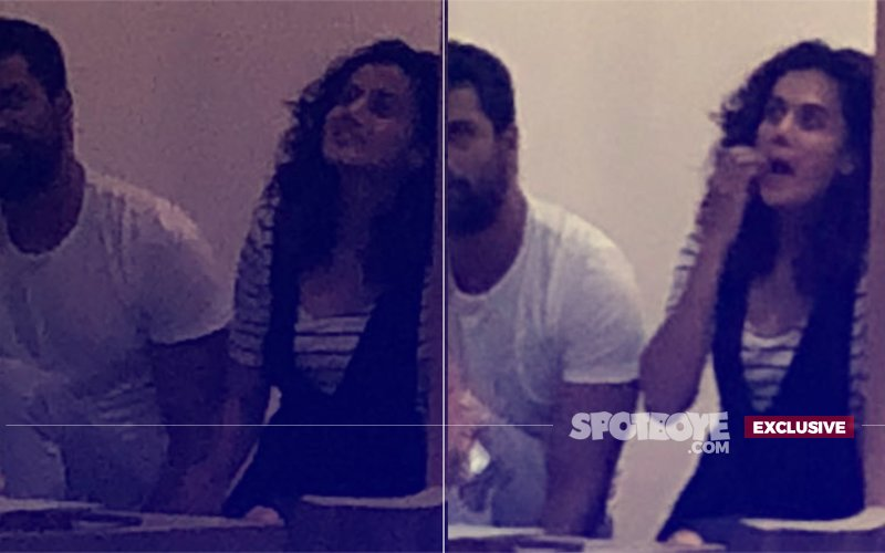 Dinner For Not Just 2: Taapsee Pannu Spotted With Vicky Kaushal