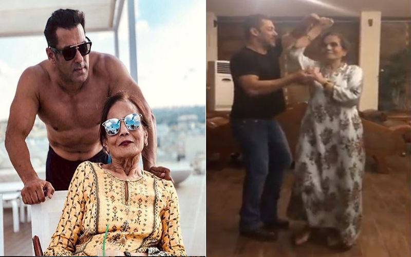 "Salman Khan Waltzes With Mom Salma On The Song Cheap Thrills; His Mother Says, ""Bandh Karo Yeh Naach Gaana"""