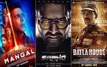 Box-Office Clash: Mission Mangal, Saaho And Batla House Race For The Triple Battle This Independence Day