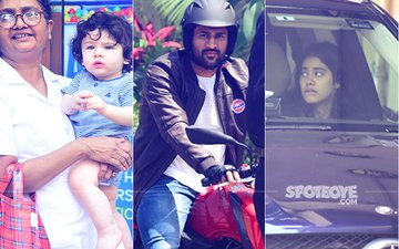 Janhvi Kapoor, Taimur Ali Khan & MS Dhoni Spotted In The City. Here's What They Were Upto...
