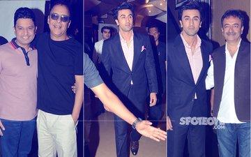 Ranbir Kapoor At The Launch Of Sanju Teaser With Rajkumar Hirani