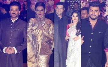 Ambani Engagement Party: Anil Kapoor, Rekha, Vidya Balan-Siddharth Roy Kapur & Arjun Kapoor Arrive For The Big Night