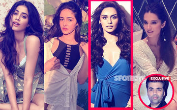 Is Manushi Chillar Karan Johar's Latest Student After Janhvi Kapoor, Ananya Panday And Tara Sutaria?