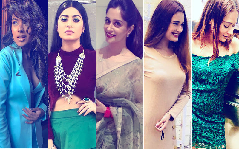 BEST DRESSED OR WORST DRESSED Of The Week: Nia Sharma, Krishna Mukherjee, Dipika Kakar, Yuvika Chaudhary Or Sara Khan?