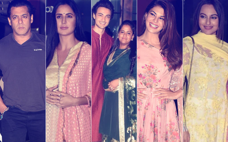 Salman, Katrina, Jacqueline, Sonakshi Attend Arpita & Aayush's Eid Bash