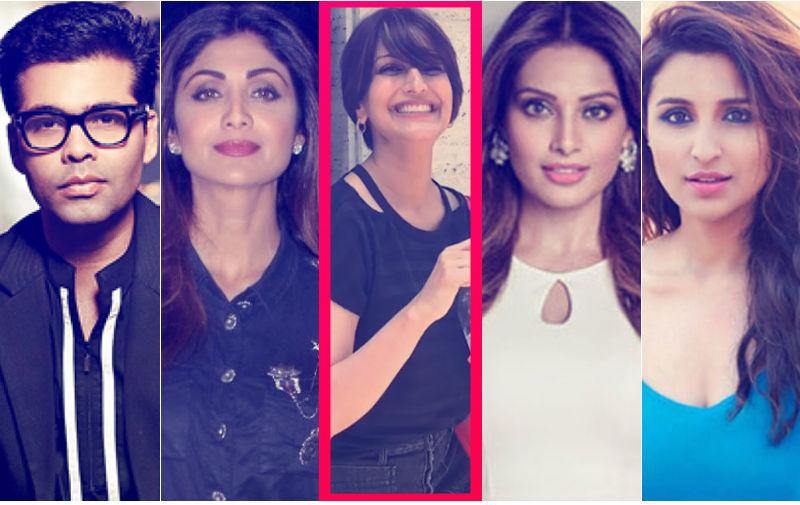 Sonali's First Pictures From New York: Karan, Shilpa, Bipasha, Parineeti Laud Actress' Courage