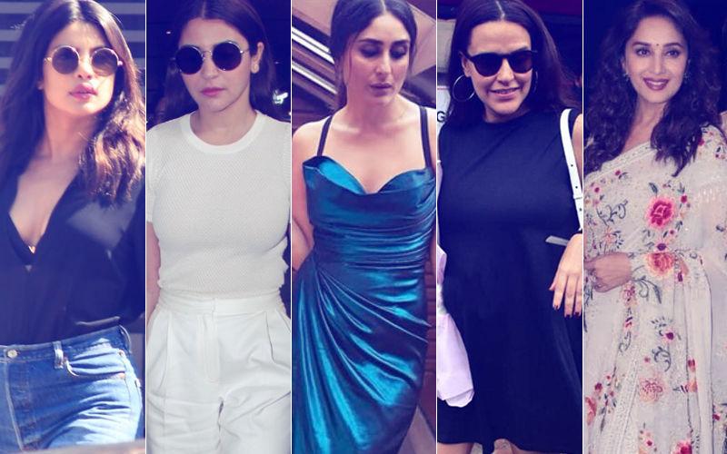 STUNNER OR BUMMER: Priyanka Chopra, Anushka Sharma, Kareena Kapoor, Neha Dhupia Or Madhuri Dixit?