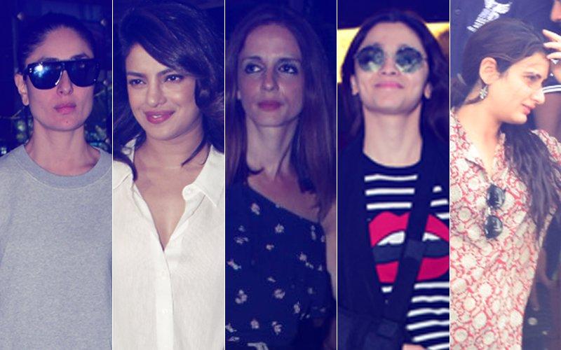 STUNNER OR BUMMER: Kareena Kapoor, Priyanka Chopra, Sussanne Khan, Alia Bhatt Or Fatima Sana Shaikh?