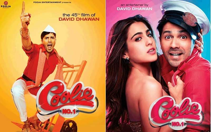 Coolie No. 1 Posters Out: Varun Dhawan Is Ready To Entertain, Sara Ali Khan Will Make You Swoon In This Rip-Roaring Comedy